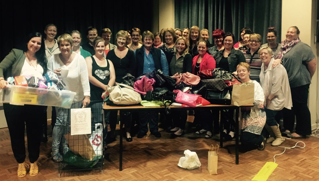 A S.H.E Night in Bombala where donations were made to Share the Dignity!